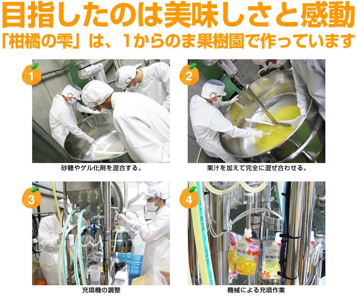 「柑橘の雫」は、1からのま果樹園で作っています
