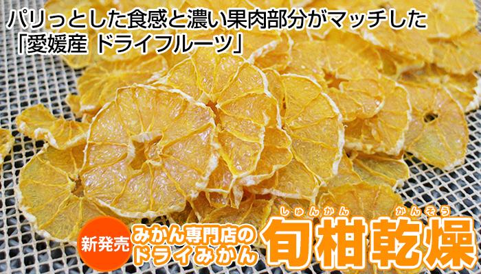 旬柑乾燥「ドライみかん」