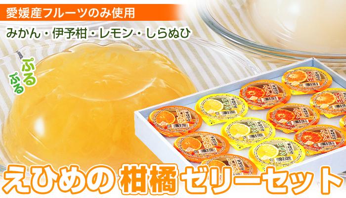 えひめの柑橘ゼリーセット