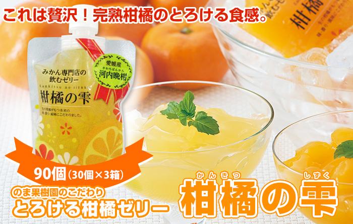 柑橘の雫 河内晩柑