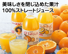 9月愛媛の柑橘ジュース