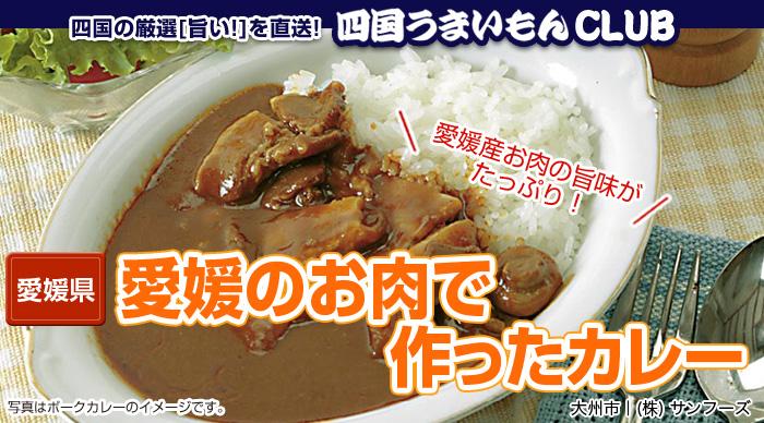 愛媛のお肉で作ったカレー